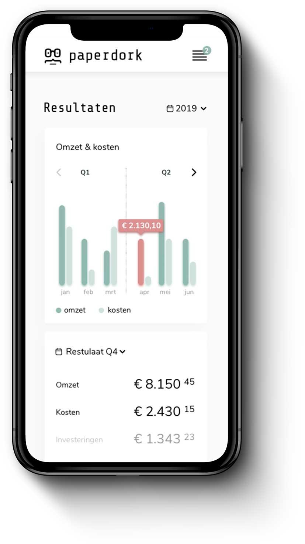 ZZP boekhouding app | Paperdork