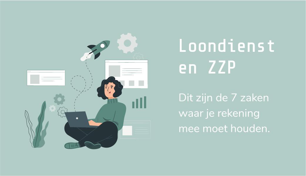 Loondienst en ZZP: dit zijn de 7 zaken waar je rekening mee moet houden | combineren loondienst en eigen onderneming | loondienst en eigen bedrijf | design by Freepik