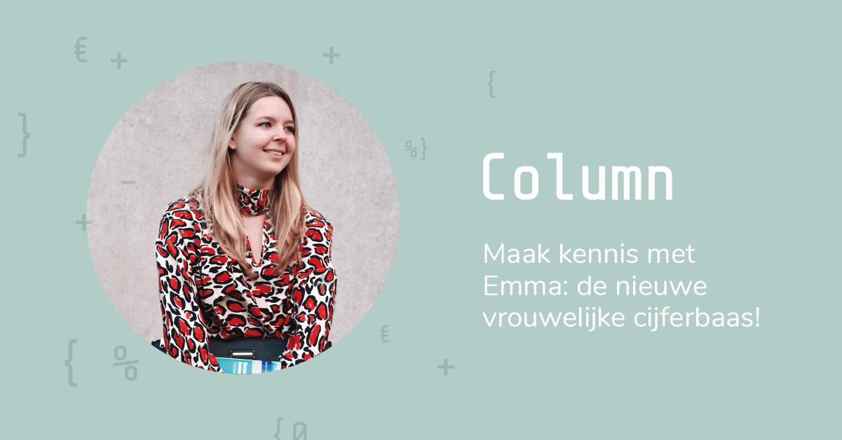 Column   Maak kennis met Emma: de nieuwe vrouwelijke cijferbaas bij Paperdork