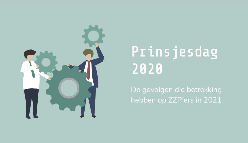 Prinsjesdag 2020: de gevolgen voor ZZP in 2021 | Troonrede | zelfstandigenaftrek | design by Freepik