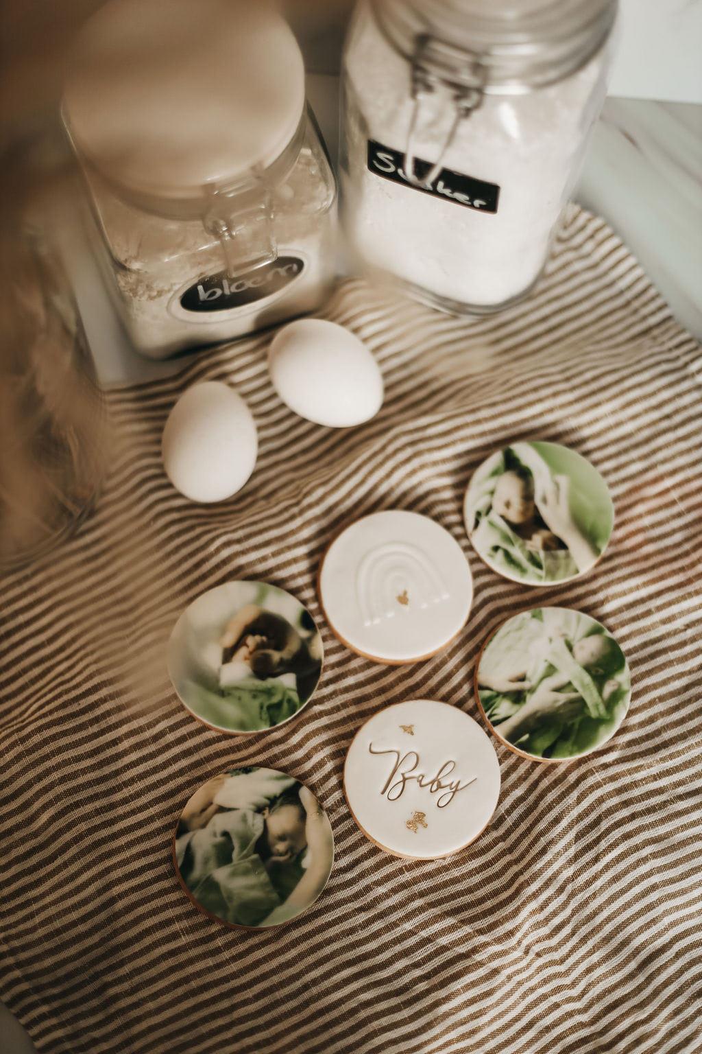 Gepersonaliseerde koekjes van Cookie Doos - Loraine van Niekerk